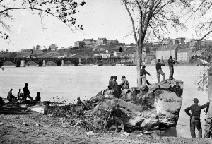 The Potomac River During The Civil War