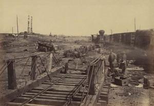 Ruins at Manassas; March 1862.