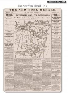 December 19th, 1864 Civil War Newspaper New York Herald